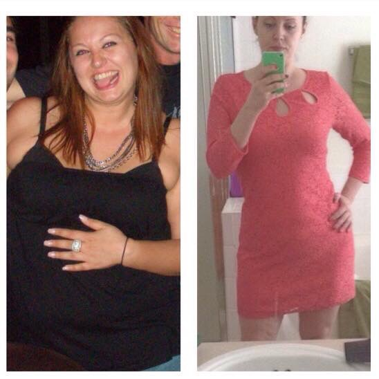 Sarah Before And After She Lost 45 Lbs On A Ketogenic Diet